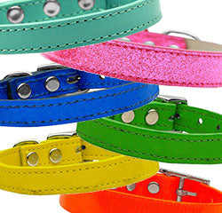 Solid Color Dog Collars - Poochles