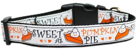 Pumpkin Pie Dog Collar - Poochles