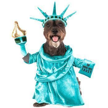 647bf3c4 Statue Of Liberty Halloween Dog Costume