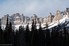 The Sentinels, near Dubois, Wyoming
