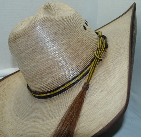Braided Horsehair Hat Band