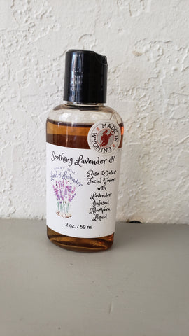 Lavender / Rosewater / Witch Hazel Facial Toner