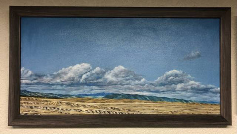 Big Horn Mountains Original Oil