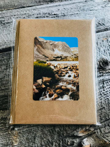 Wyoming Mountains Mixed Card 5 Pack