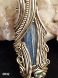 Whispy Kyanite Necklace