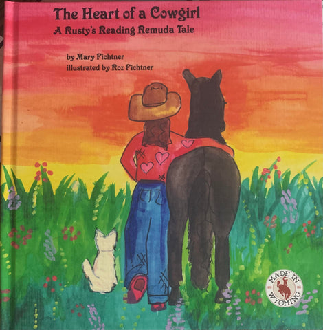 beautiful watercolor illustrations for the poetry about the spirit of the cowgirl
