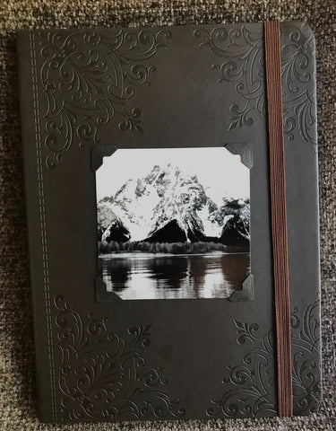 Mount Moran of Teton National Park Journal