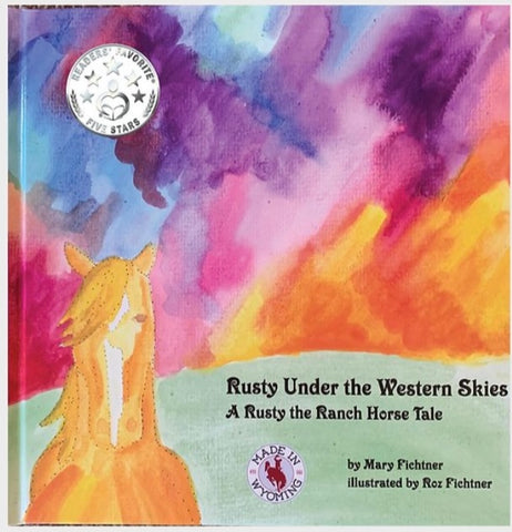 """Rusty Under The Western Skies"" Book"