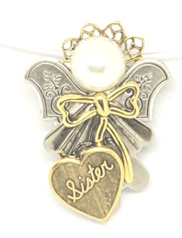 Sister Angel Pin