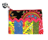 Sun Multi Colored Coin Purse or Travel Cosmetic Bag