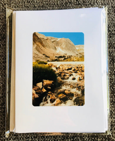 Wyoming Mountains  Greeting Card Pack