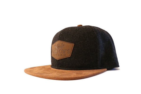 Gastons Tavern Snapback (Black) - 2319threads