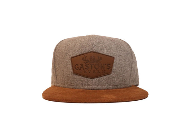 Gastons Tavern Snapback (Gray) - 2319threads