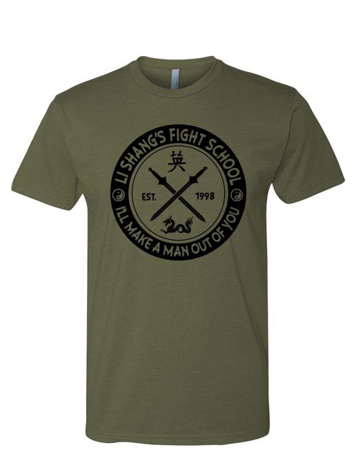Fight School Tee - 2319threads