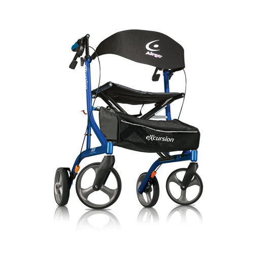 Airgo® eXcursion™ X23 Lightweight Side-fold Rollator (Ultra-lightweight/Tall Seat)