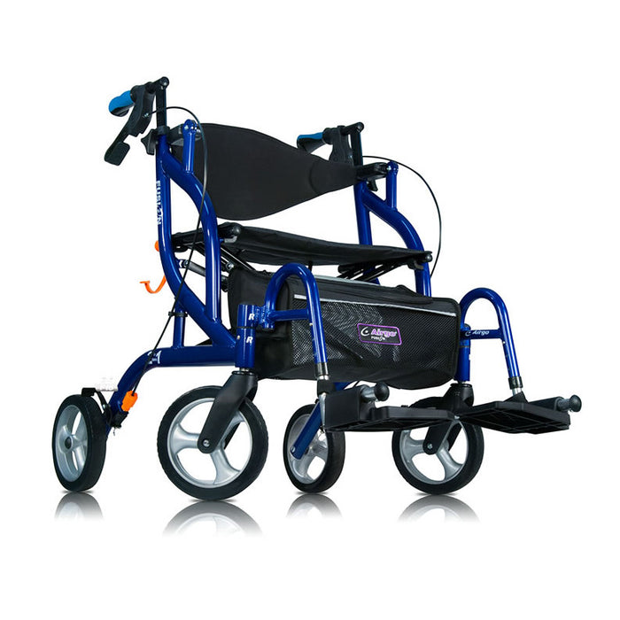 Airgo Fusion F20 Side-Folding Rollator & Transport Chair