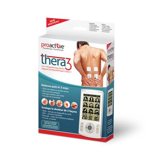 TENS 3-in-1 Physiotherapy Device Thera3™ by ProActive™
