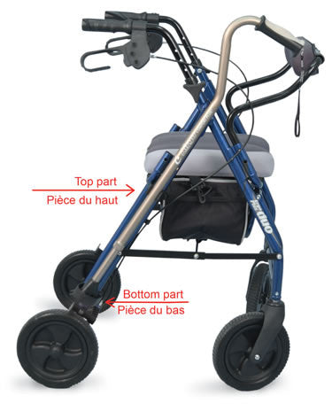 Cane Holder for Rollators