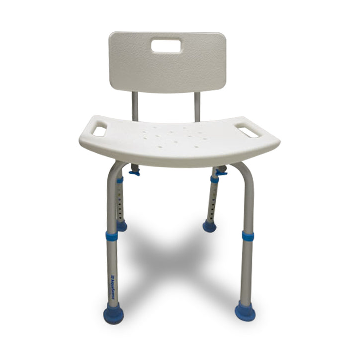 Aquasense Adjustable Bath Seat With Back