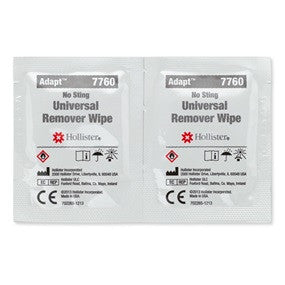 Adapt Universal Remover Wipes - 50 wipes/box