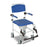 Aluminum Rehab Shower Commode Chair with Four Rear-locking Casters