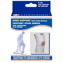 Knee Support With Open Patella