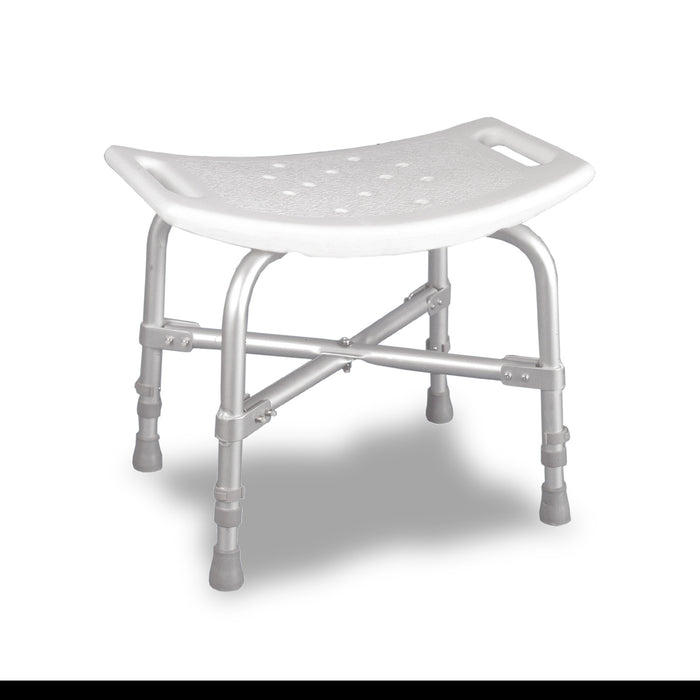 Deluxe Bariatric Shower Bench with Cross-Frame Brace