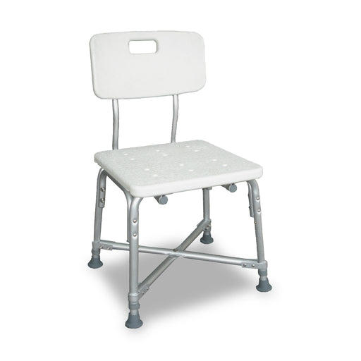 Deluxe Bariatric Shower Chair with Cross-Frame Brace (600 lb. Weight Capacity)