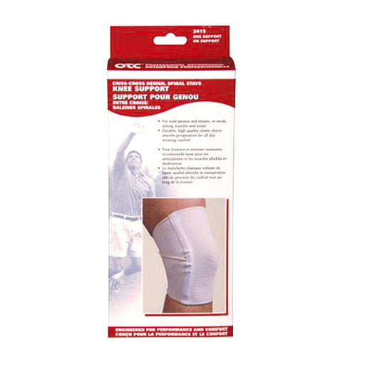 Knee Support / Spiral Stays & Criss-Cross Design