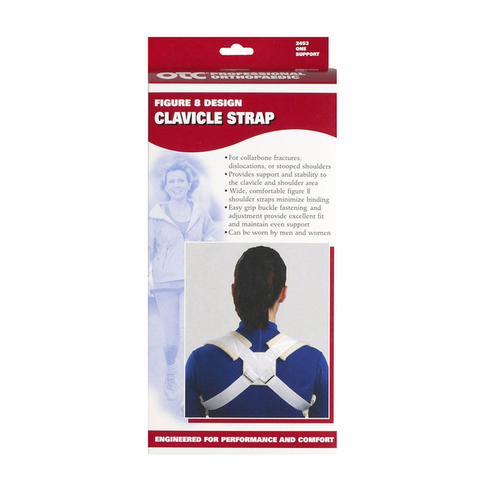 FIGURE-8 DESIGN CLAVICLE STRAP
