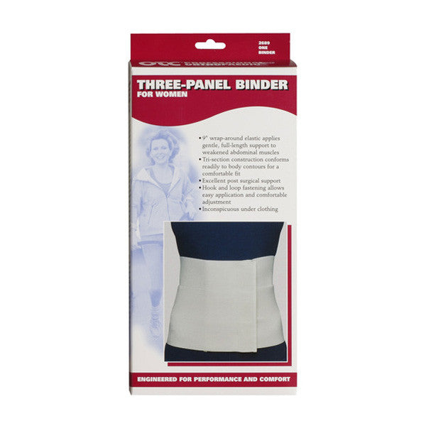 Three-Panel Abdominal Binder for Women