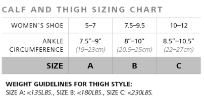Sheer Fashion for Women - Calf (15-20mmHg)