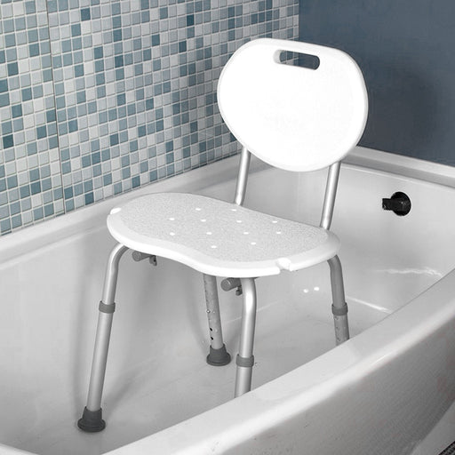 Shower Chair with Oval Back