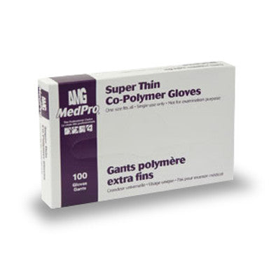 Superthin Co-Polymer Gloves