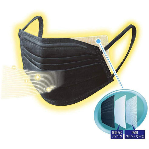 Washable/Reusable Face Mask - Black (Package of 5)