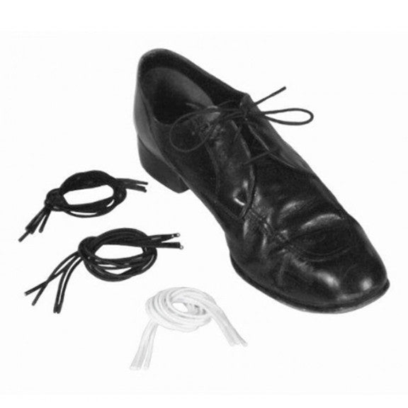 "Black Elastic Shoe Laces (30"")"