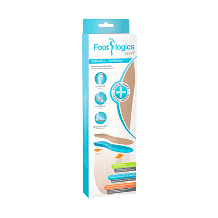 Footlogic Sensi Medical-Grade Orthotics (Full Length)