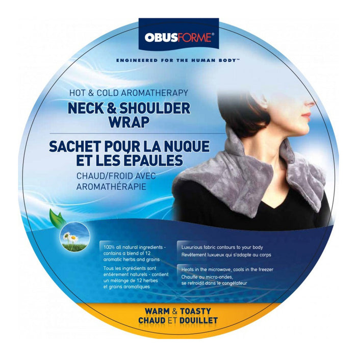 Hot and Cold Aromatherapy Neck and Shoulder Wrap