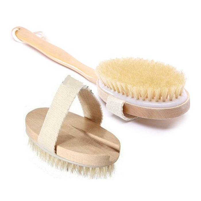 Scrub Brush with Long Handle