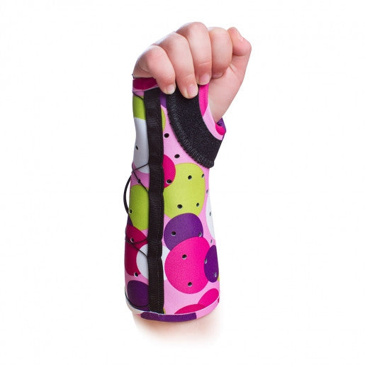 Pediatric Short Arm Fracture Brace - Open Thumb