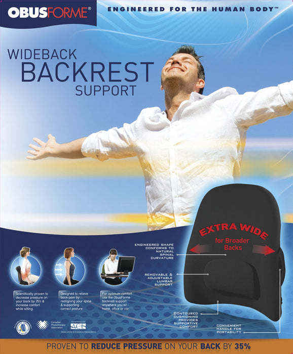 Wideback Backrest Support