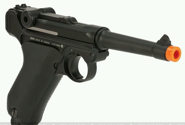 Kwc CO2 airsoft blowback Luger PO8 full metal  pistol gun C02 parabellem gbb