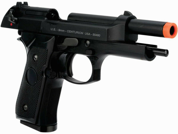 B&W green gas blowback M9FS full metal military airsoft pistol GBB 300 FPS - Gas Blowback Armory