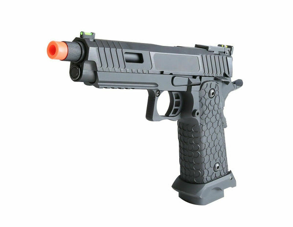 CO2 gas blowback 1911 2011 Baba Yaga SRC full metal tactical airsoft pistol - Gas Blowback Armory