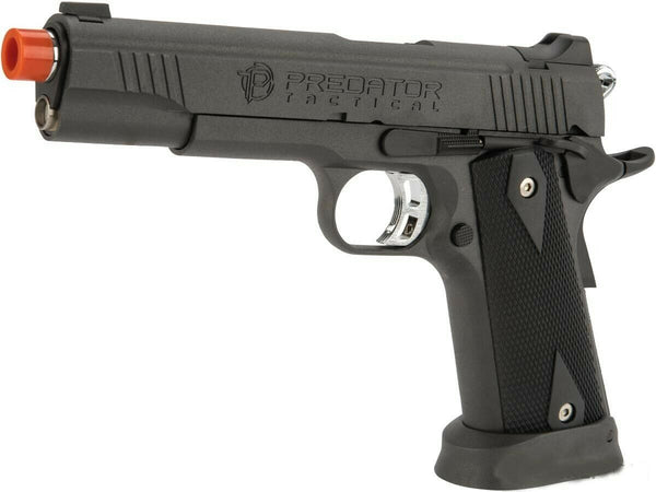 King Arms CO2 gas blowback 1911 full metal Predator Tactical Iron Shrike airsoft - Gas Blowback Armory