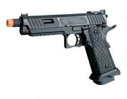 SRC CO2 blowback Baba Yaga 1911 2011 Hicapa full metal airsoft tactical pistol - Gas Blowback Armory