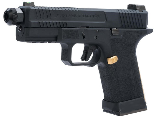 EMG green gas blowback Salient Arms International BLU Compact Airsoft Training pistol - Gas Blowback Armory
