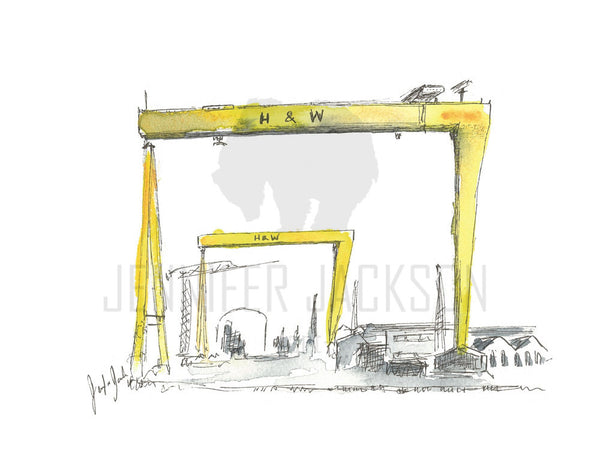 Harland and Wolff Art Print