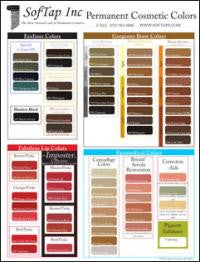 Color Chart Small - Shop Cameo College