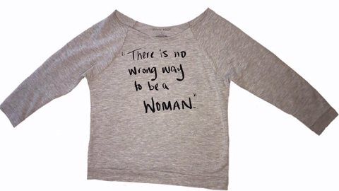 There is No Wrong Way to be A Woman - Signature 3/4 Sleeve